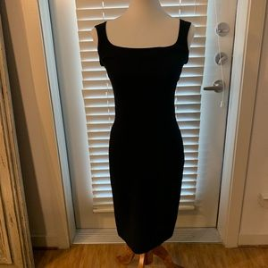 Dolce & Gabbana Little Black Dress Stretch Bodycon
